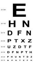 Continuous-Text Reading Chart for Eye Examinations