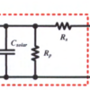 Fig. 1 Solar cell capacitance characterization switching circuit.