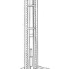 Setup and thrust stand of the Hybrid Rocket Engine