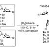 Simple synthesis of a stable, novel class of carbene anchor