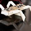 "An insect-like robot designed and printed using ""printable robots"" fabrication techniques."