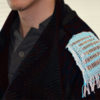 Figure 1. Example of the integrated energy harvesting and storage device (IEHSD) interwoven into a jacket.