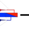 Fig. Represents a scheme for the reaction of tapered block copolymers