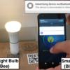 Bluetooth to ZigBee