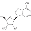 Structure of 4-cyanoindole-containing oligonucleotide compounds