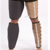 Constant-tension compression calf garment