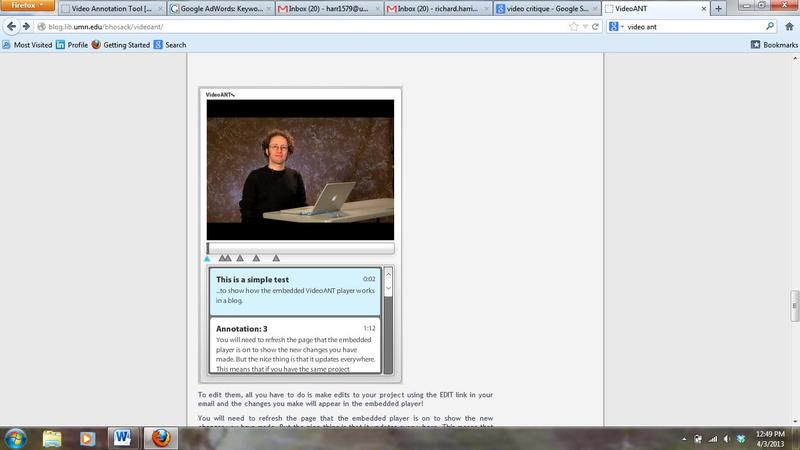 Web Based Video Annotation Tool - z08212 - University of Minnesota