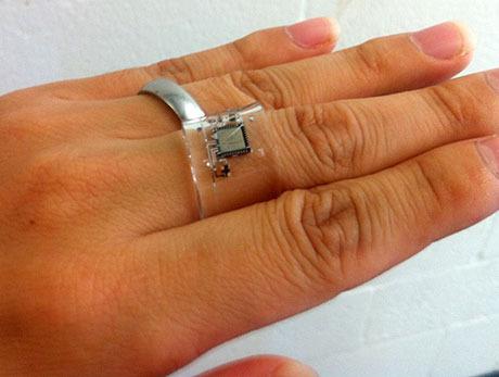 Vital Ring: a Wearable Wireless Multiple-Lead ECG Sensor Embedded in