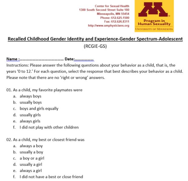 Gender Affirmative Lifespan Approach - 20170216 - University